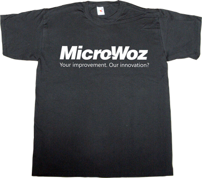 microsoft steve wozniak woz apple steve jobs innovation t-shirt ephemeral-t-shirts