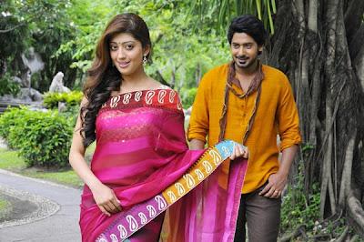Kannada movie Angaraka stills ft. Prajwal & Pranitha