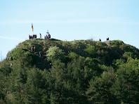 El Turó de la Creu de Gurb des de sota el Puig del Portell