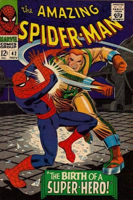 Amazing Spider-Man #42, John Jameson on the rampage, John Romita cover