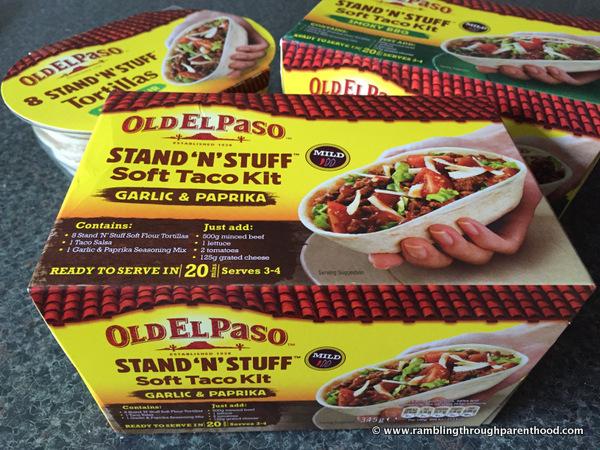 Old El Paso Stand 'N' Stuff Taco Kits