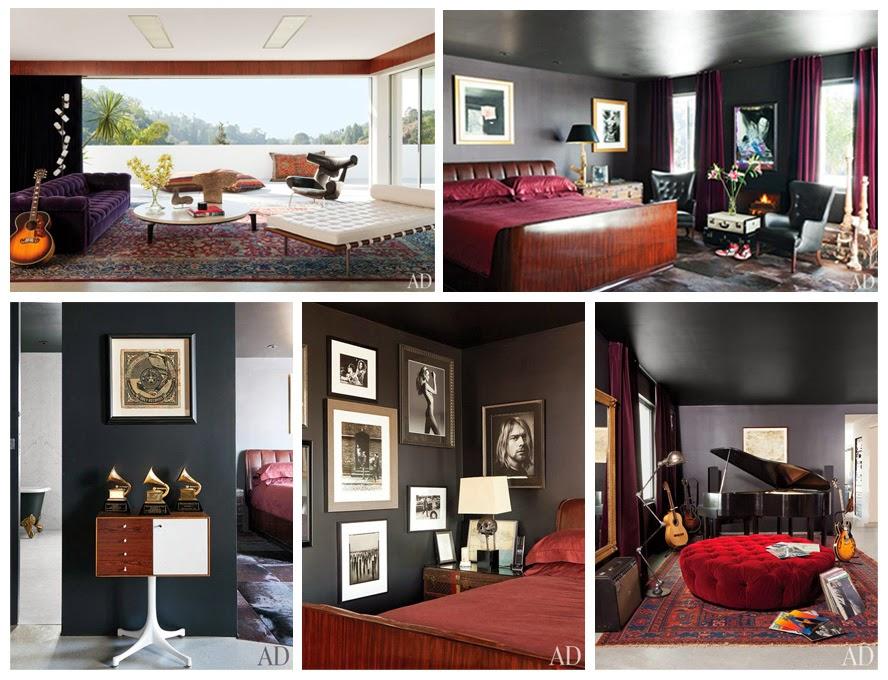 Adam Levine personality, interior design, celebrity interior design