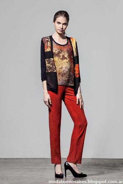 Ropa de mujer Veramo invierno 2015 sacos, pantalones.