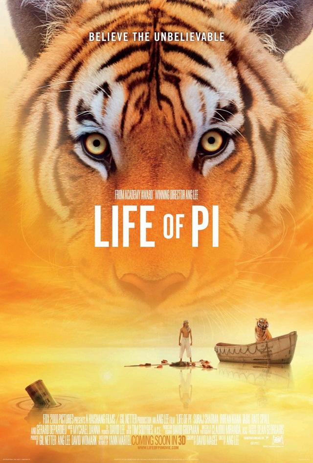 ตัวอย่างหนังใหม่ : Life of Pi (ชีวิตอัศจรรย์ของพาย) ซับไทย poster