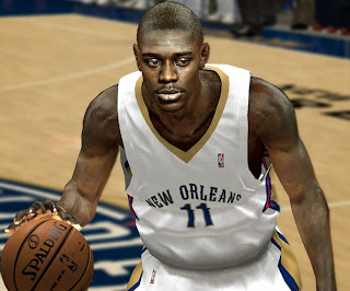 NBA 2K14 Jrue Holiday Cyberface Mod
