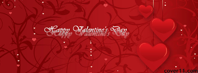 Happy Valentine's Day Facebook Timeline Cover Photo