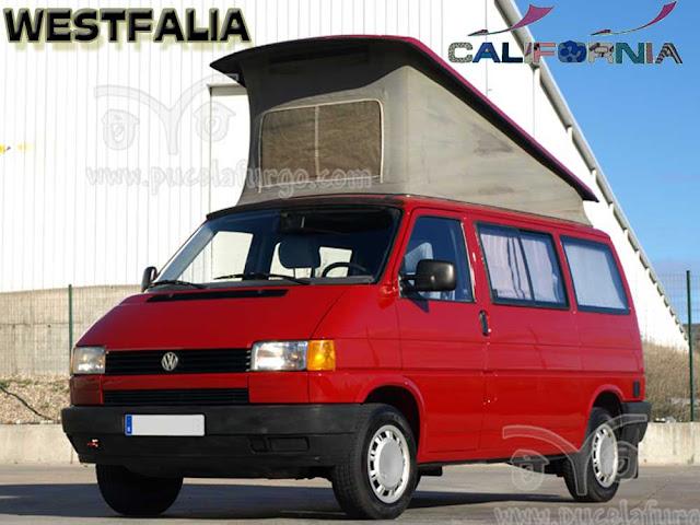 VW T4 CALIFORNIA WESTFALIA 2,4 D. 78 C.V.MOTOR COMPLETAMENTE HECHO