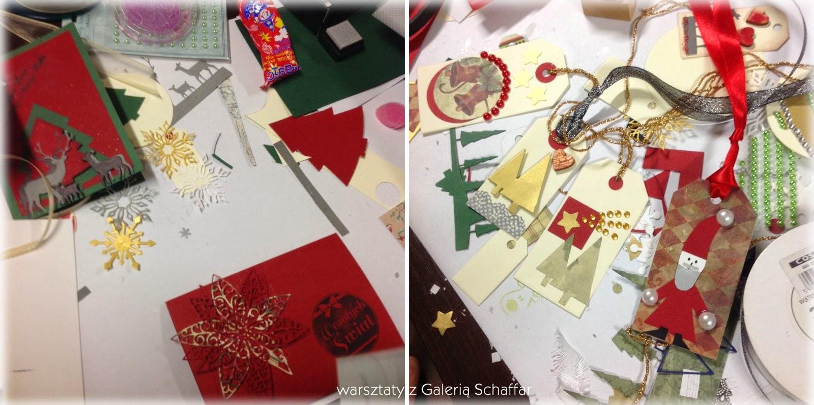 kreatywna Czernica - świąteczne warsztaty z Galerią Schaffar