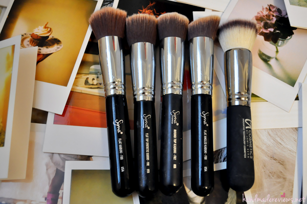 Some of my favorite kabuki makeup brushes in the world.