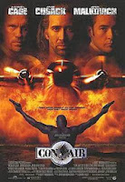 Picture is of a Con Air Movie Poster
