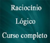 CURSO DE RACIOCÍNIO LÓGICO COMPLETO - ONLINE