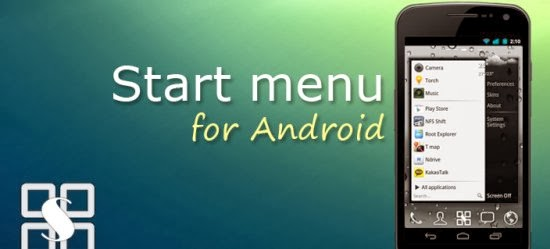 Start menu for Android 1.4.2 Apk Link By ChYK