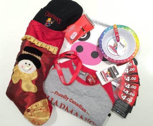 Chapman's Christmas Giveaway
