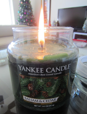 Balsam and Cedar Yankee Candle