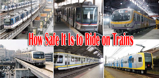 How Safe It Is to Ride on Trains as Mode of Transportation?