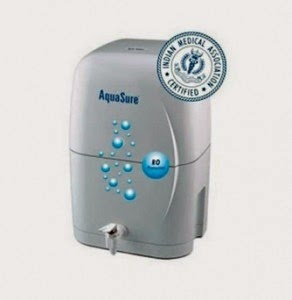 Buy Eureka Forbes 4 Ltr Nano Aquasure RO Water Purifier at + Rs.50 Cashback Rs. 7843
