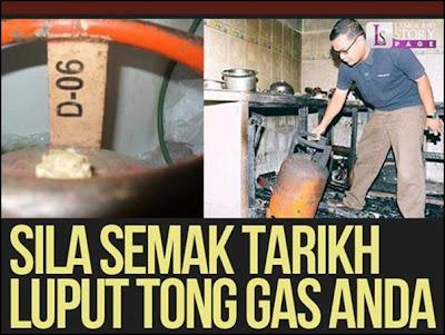 semak tarikh luput tong gas