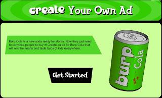 http://pbskids.org/dontbuyit/advertisingtricks/createyourownad_flash.html
