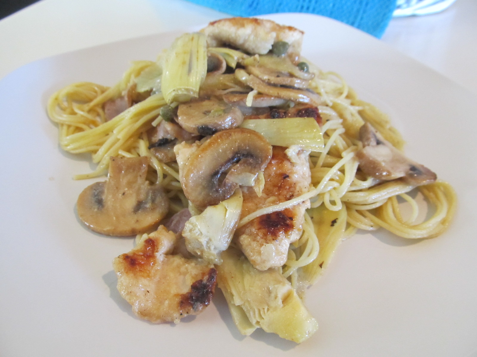 Macaroni Grill Chicken Scaloppine (My version)