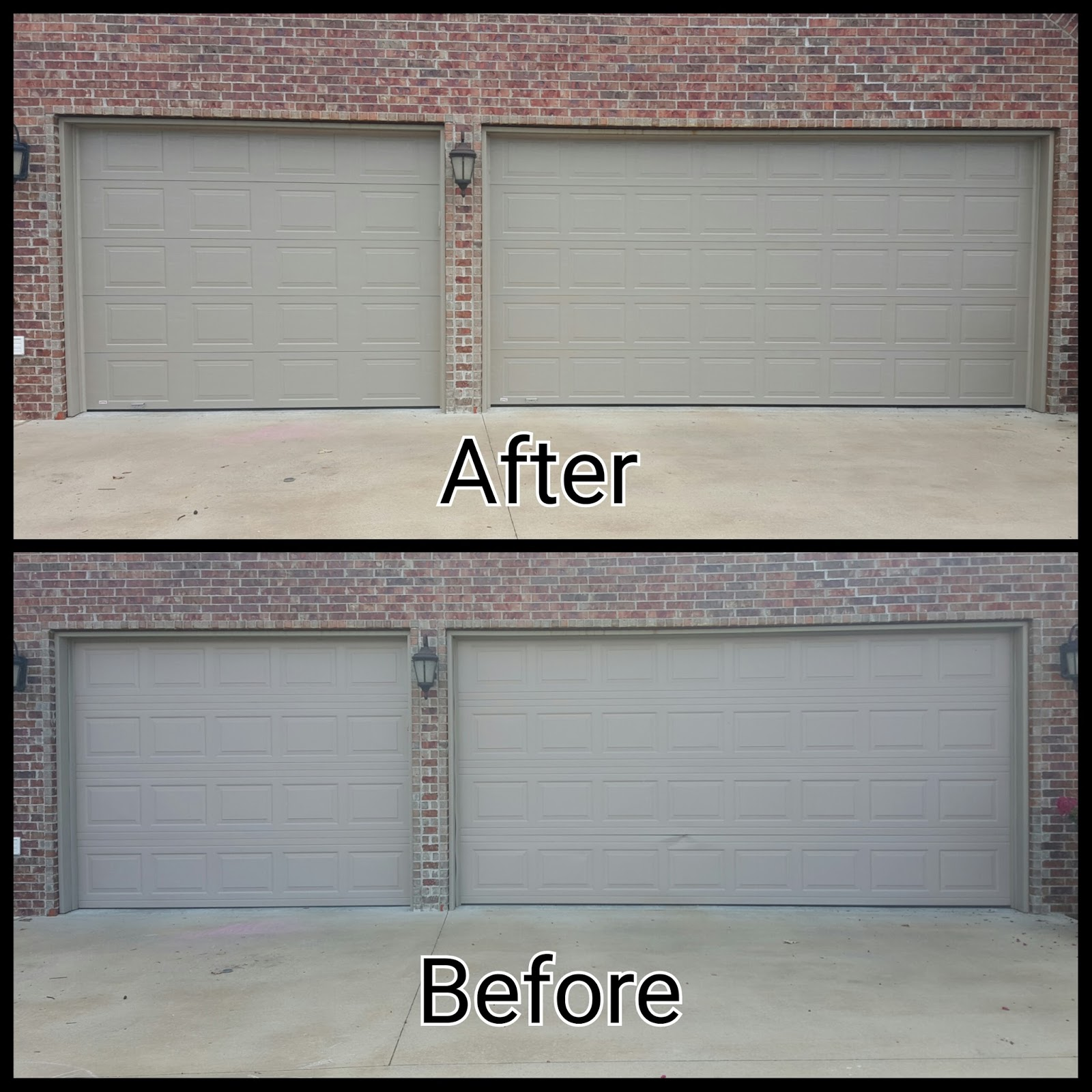 Married sperrys new garage doors for New garage