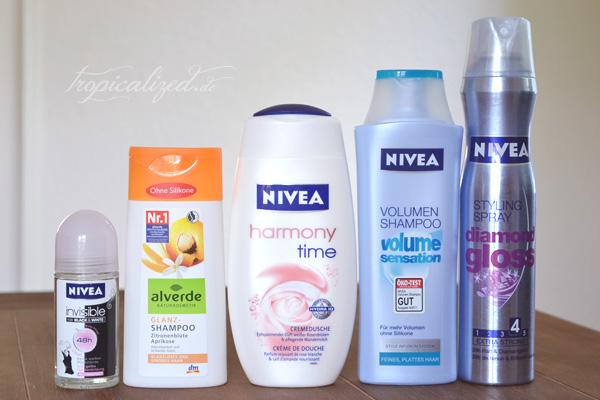 Aufgebrauchte Kosmetik August September 2012