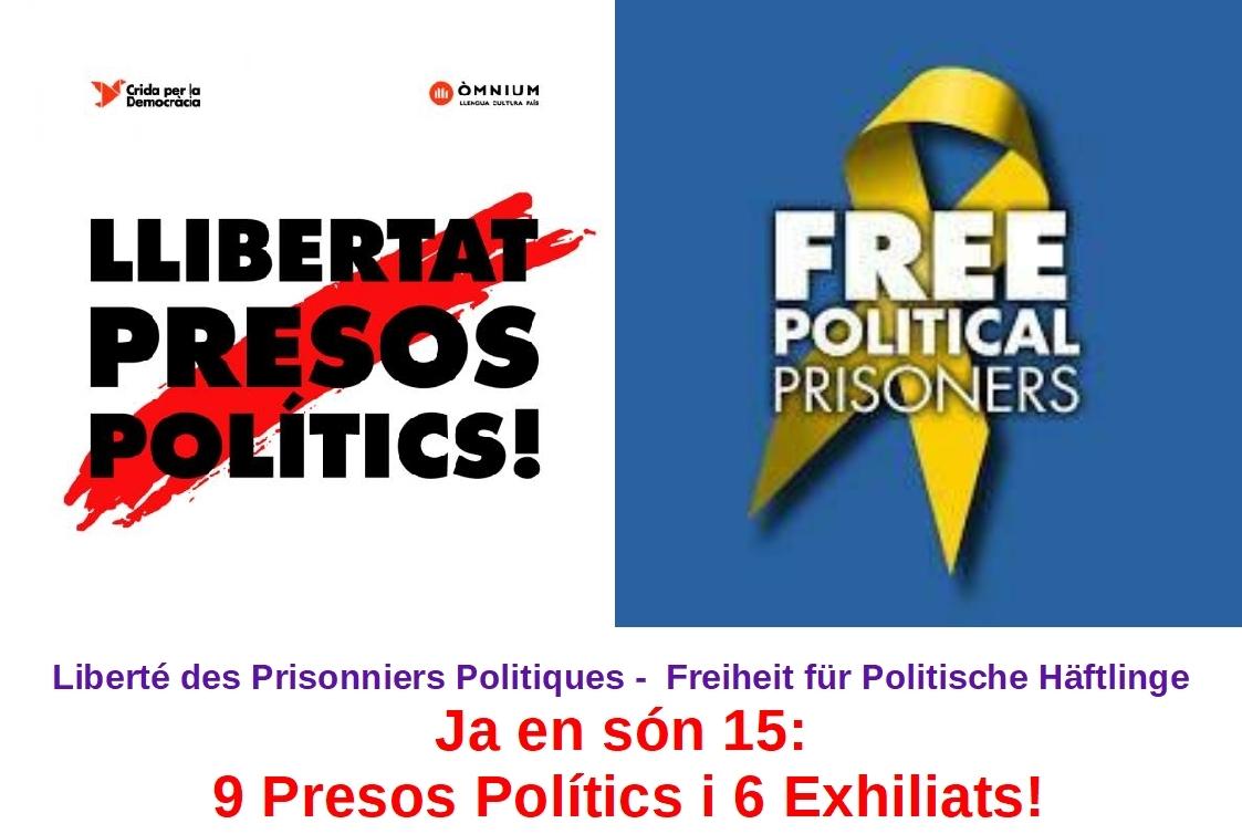 Llibertat Presos Polítics i Exhiliats