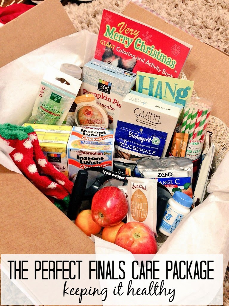 The Perfect Finals Care Package - Seekingthesouthblog.blogspot.com