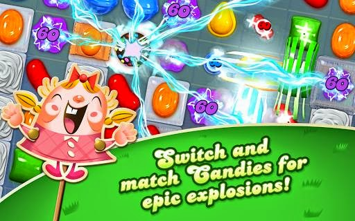 Download Candy Crush Saga APK 1.41.0 : Game Android Gratis