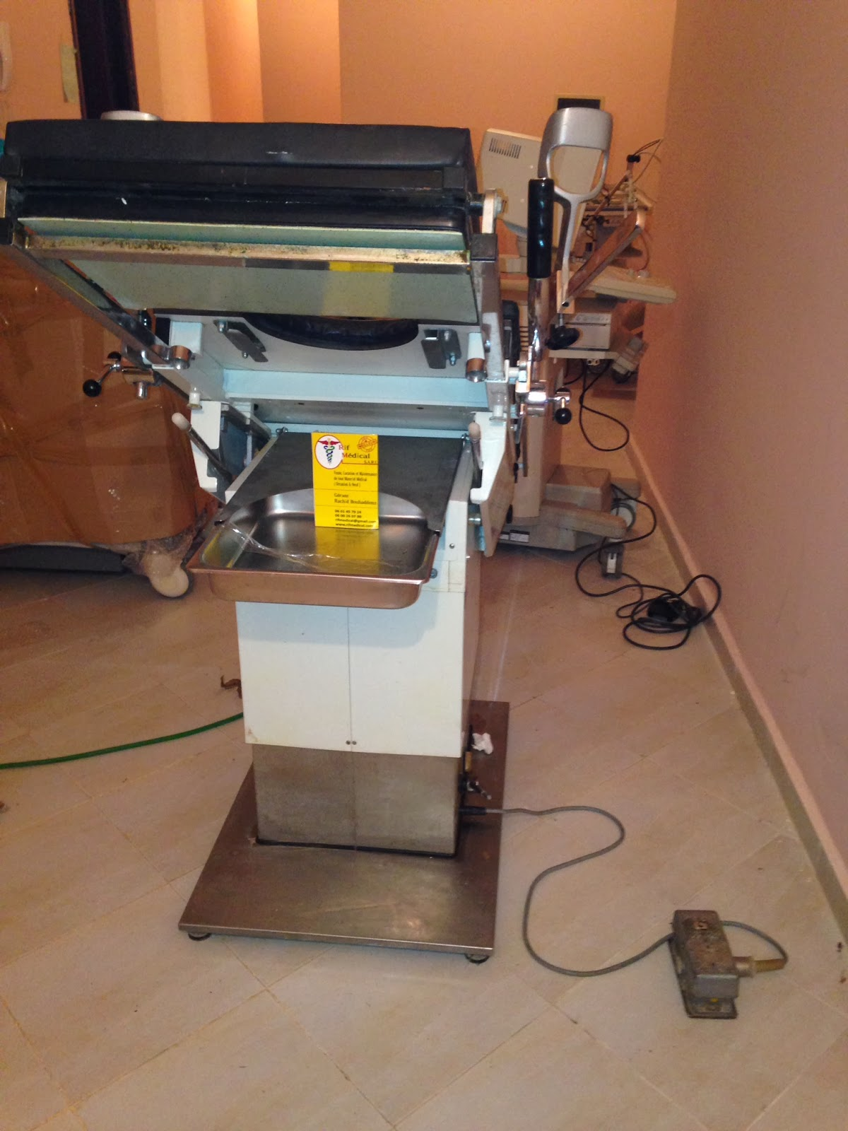 Rif medical sarl echographie maroc occasion mat riel - Table osteopathie electrique occasion ...