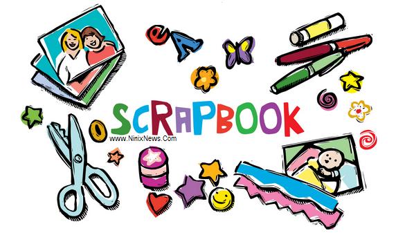 cara membuat scrapbook sendiri