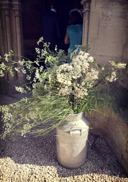 Cow parsley for a wedding