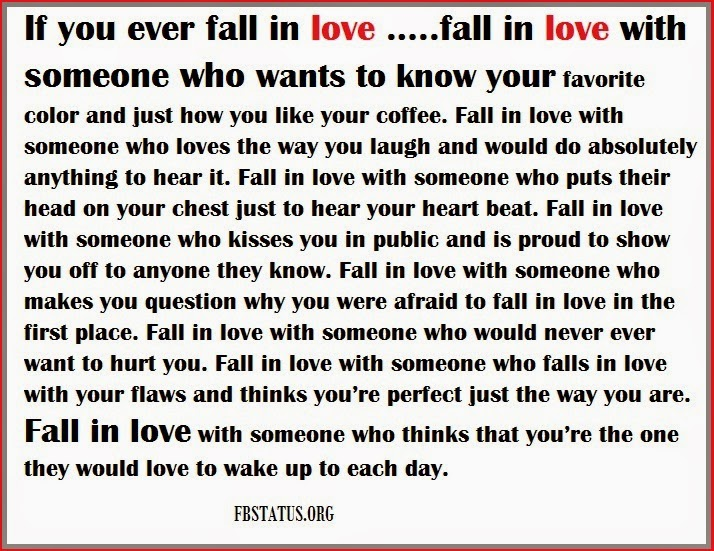 If you ever fall in love--Love Quotes