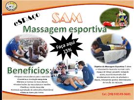 Marque já uma masagem esportiva Aqui
