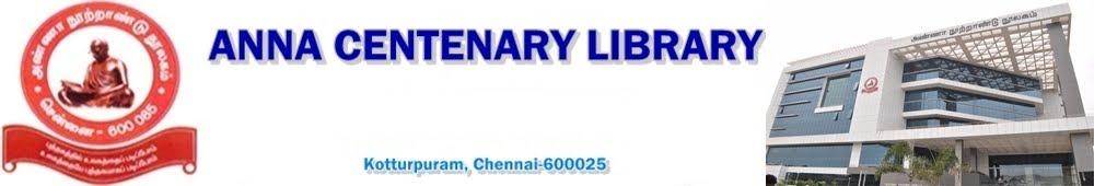 Anna Centenary Library, அண்ணா நூற்றாண்டு நூலகம்