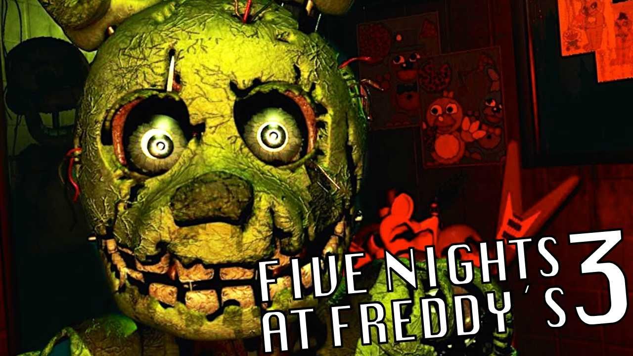 Descargar five nights at freddy s 3 gratis y completo mega y mediafire