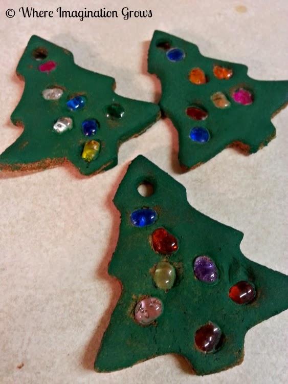handmade Christmas ornaments for kids