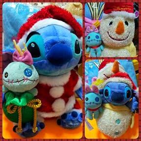 2005 JPDS Xmas Santa / 2008 HKDL Snowman Stitch + Scrump