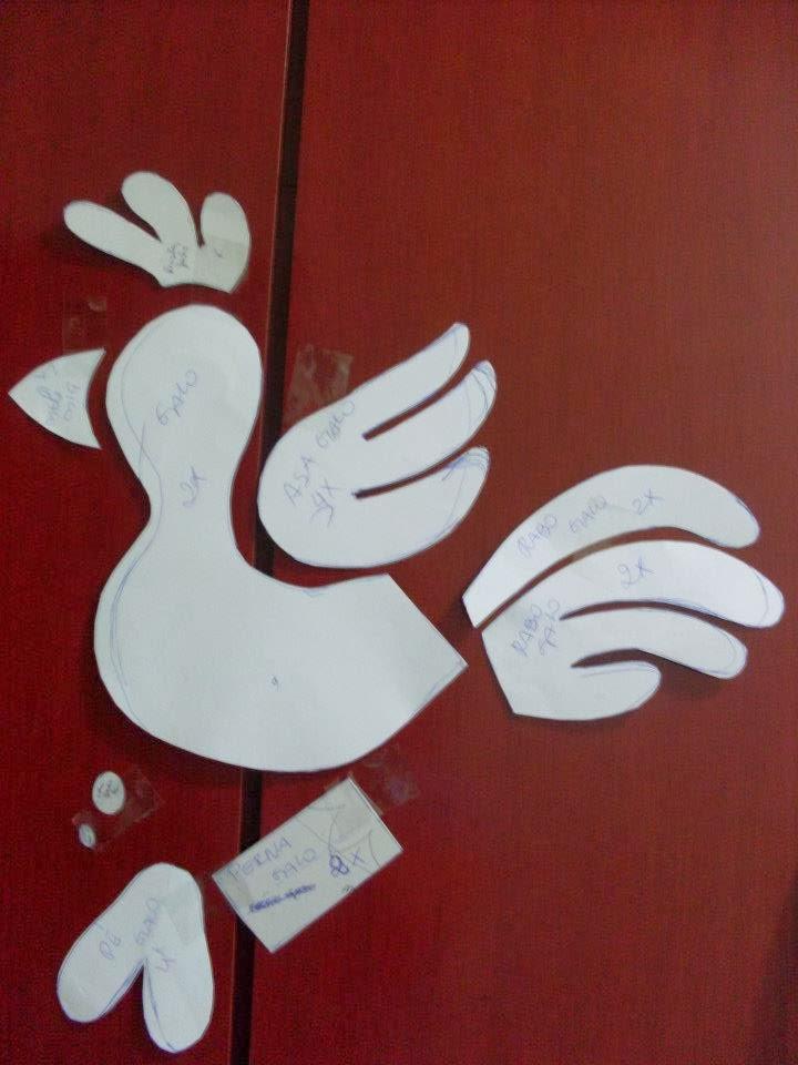 Art's by Catita: Moldes Turma da Galinha Pintadinha