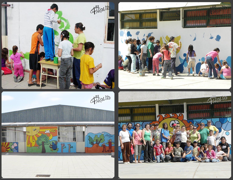 el farolito murales escuela 78 b r o atuel santa rosa