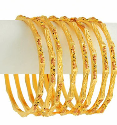 Pakistani Beautiful Bangles Designs 2012