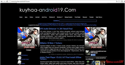Download Template Blogspot kuyhaa-android19.com