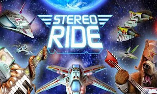 Screenshots of the Stereo Ride for Android tablet, phone.