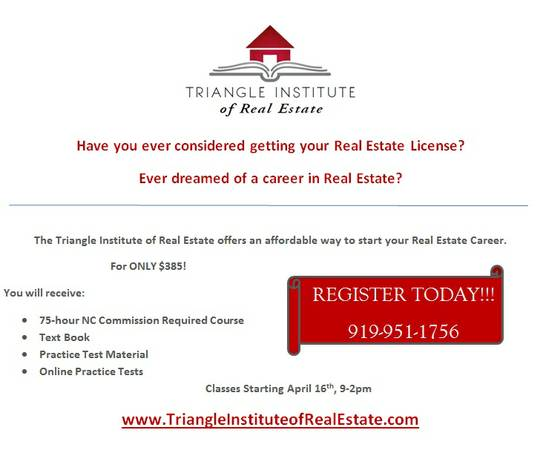Real Estate college subject test requirements