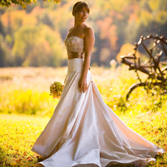 Dresses For A Fall Wedding Colored fall wedding dresses