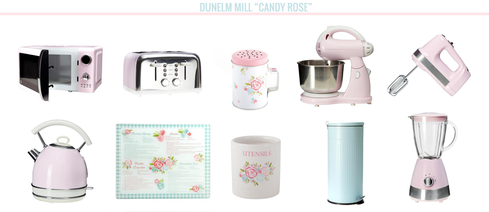 home bloggers, home, home wishlist, Dunelm Mill Candy Rose Collection Pink and Duck Egg Blue Kettle Toaster Microwave Blender Mixer