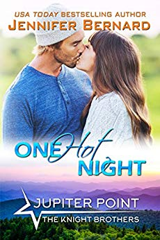 One Hot Night (Jupiter Point #9) by Jennifer Bernard (CR)