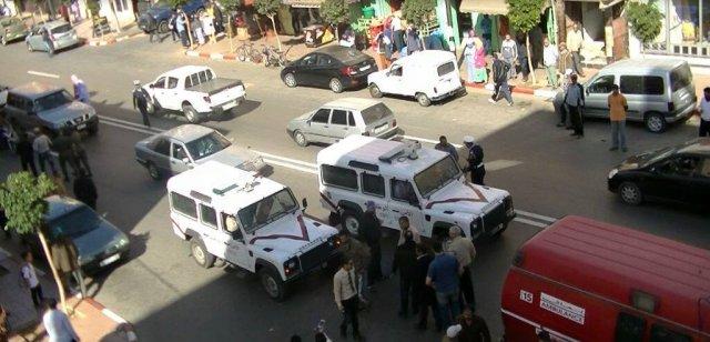 Manifestation à El Aaiun des diplômés chômeurs sahraouis