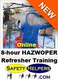 Online 8 hour HAZWOPER Refresher Training