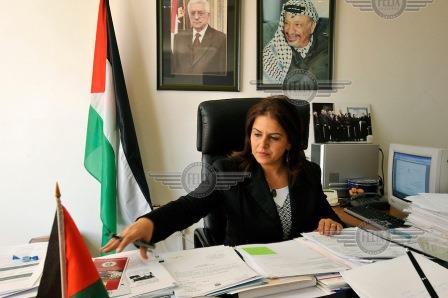 Ministra palestina, Rula Albandak, promove turismo no Brasil