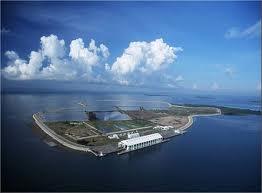 Terminal Sampah PULAU SEMAKAU, SINGAPURA